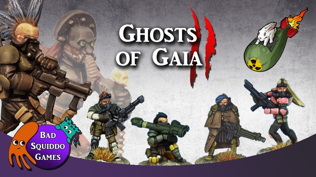 Ghosts of Gaia TWO: Reinforcements - 28mm Scifi Female Minis project video thumbnail
