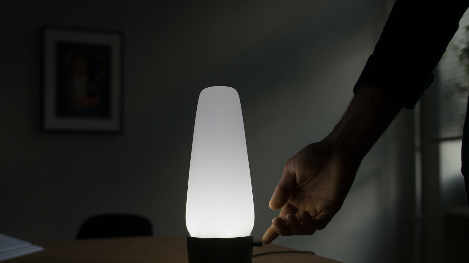 COVI is a beautifully designed lamp that includes a speech interface and open source smart home hub.