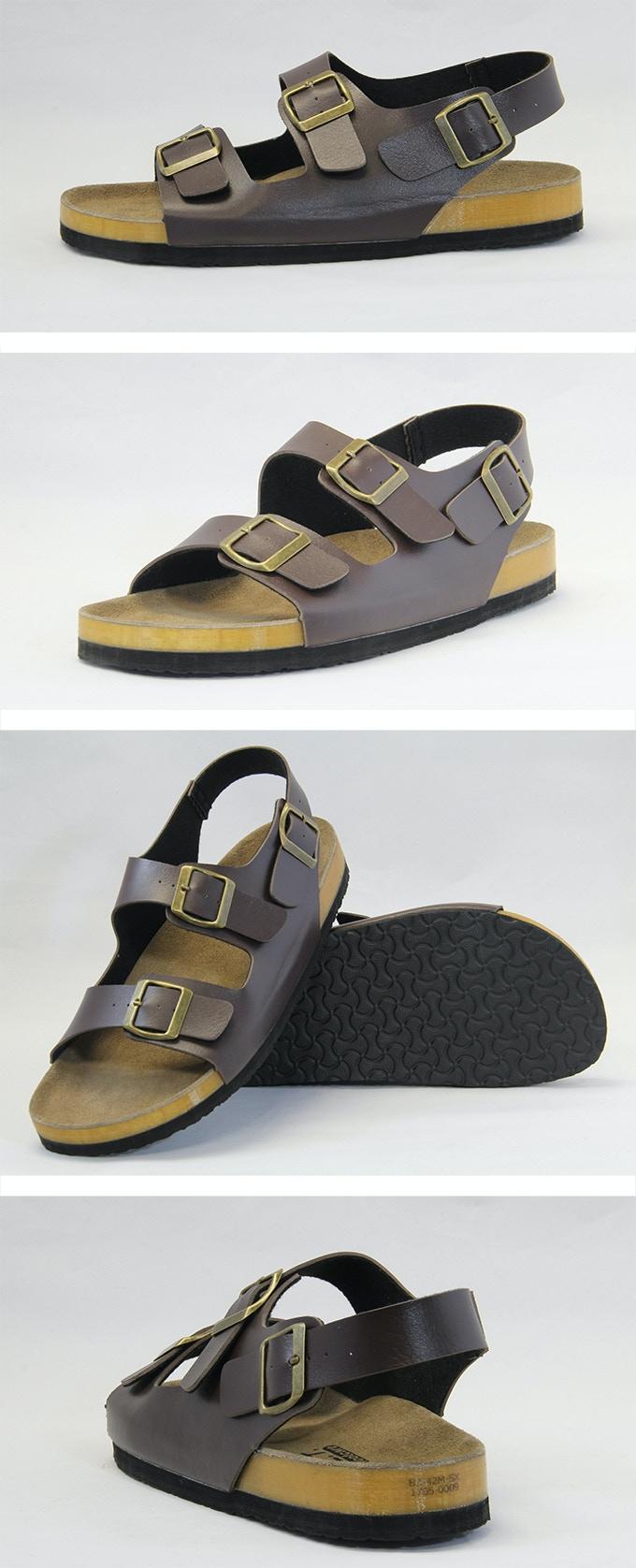 3-strap unisex sandals