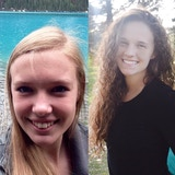Megan Kalina and Hannah Sheehan
