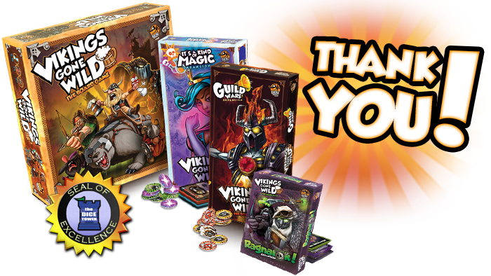 Bring your clan to victory in this mix of resource management and deck building game!