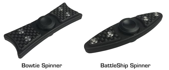 Bow Tie or Battleship spinner for $100k stretch goal?