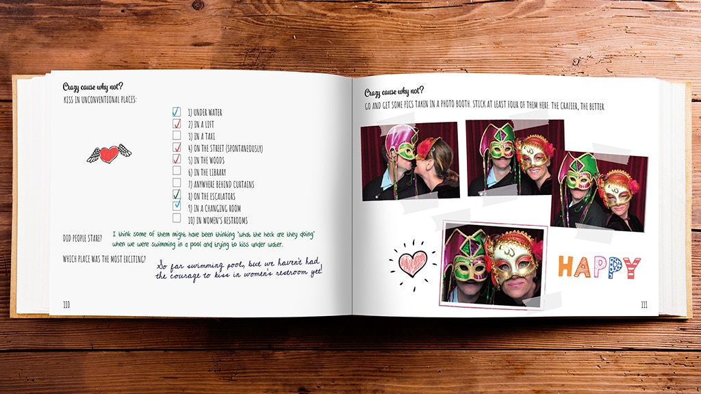 Our Love Challenges - a book for couples in love project video thumbnail