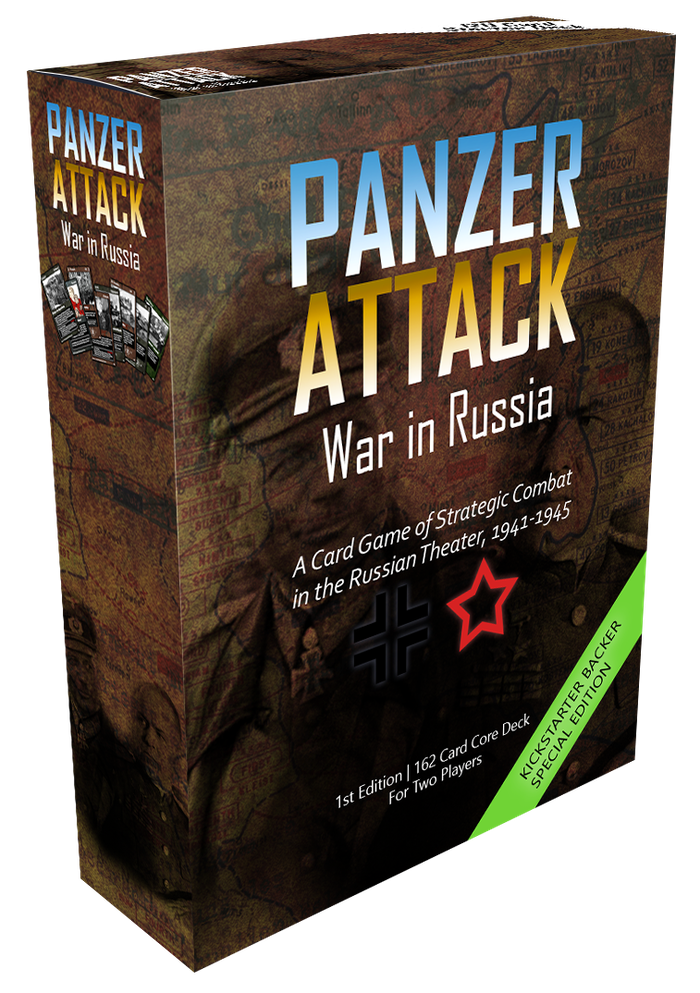 A fast-paced, easy to learn, deck building, card game that captures the epic scope of World War 2 combat on the Eastern Front.