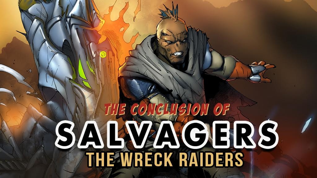 SALVAGERS: The Wreck Raiders (Complete Trade Paperback) project video thumbnail