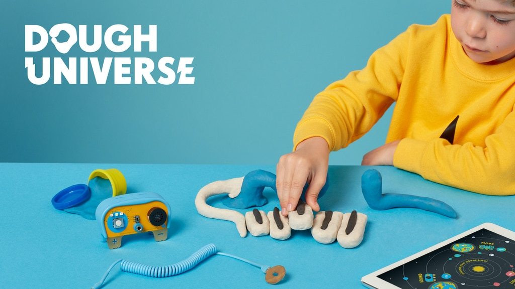 Dough Universe: Teach kids about electronics with play dough project video thumbnail