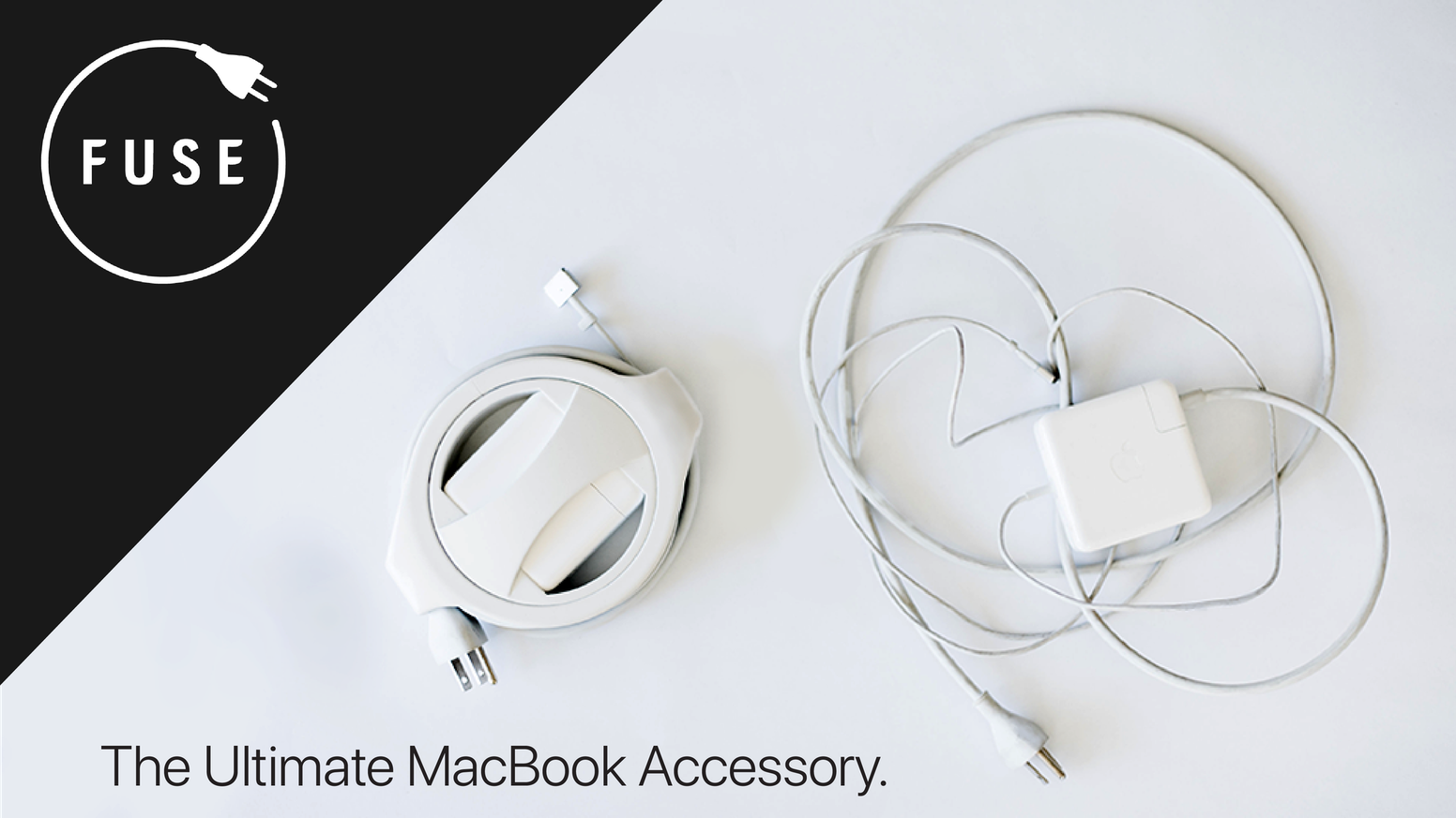 The Side Winder allows you to wind, store, and protect your MacBook Charger in under 6 seconds without ever having to touch your cables