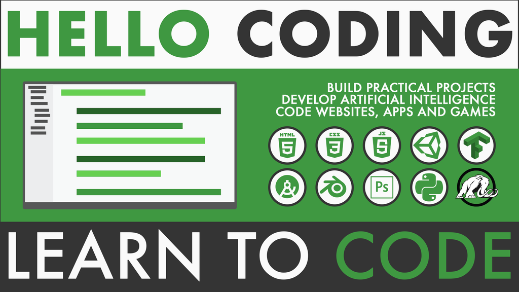Hello Coding: Anyone Can Learn to Code project video thumbnail