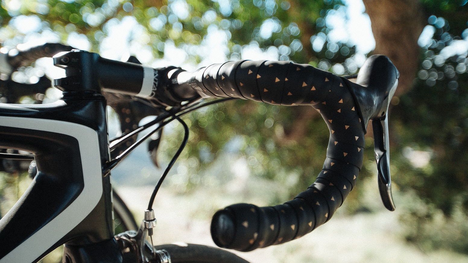 Unique and distinctive handlebar tape for bicycles, whether fixie, road or triathlon bike.