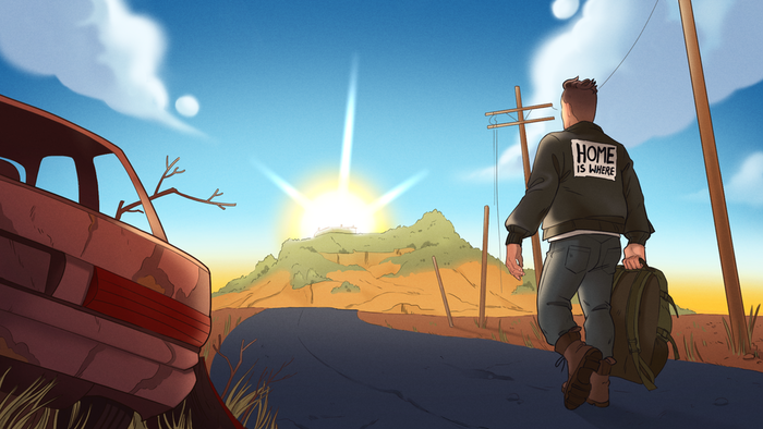 A visual novel about falling in love and moving on from past trauma, even after the world ends.