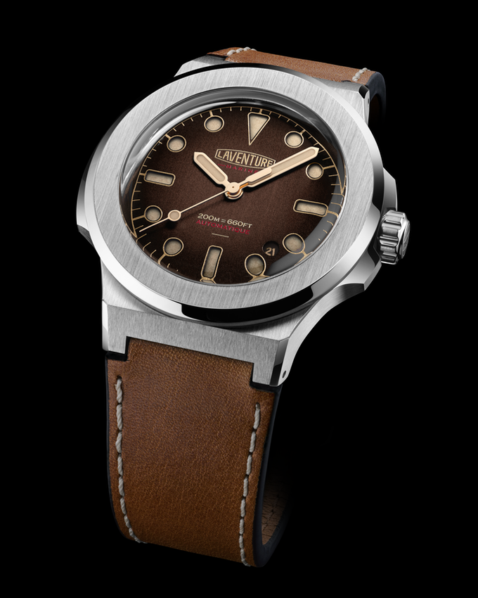 LAVENTURE Marine Brown Dial / Limited Edition of 50 pieces