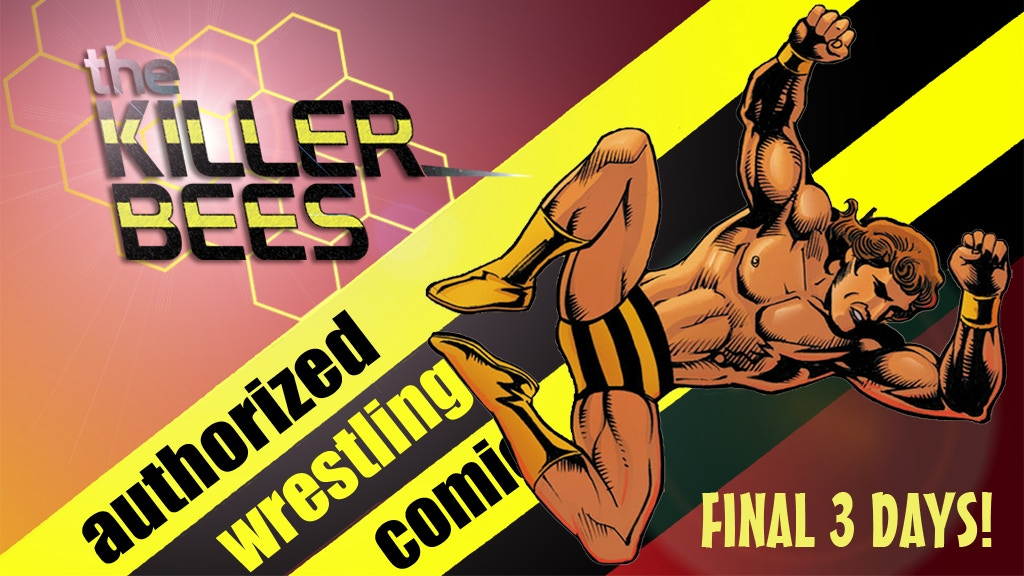 The Killer Bees - High-Flying Comics in Tag Team Style project video thumbnail