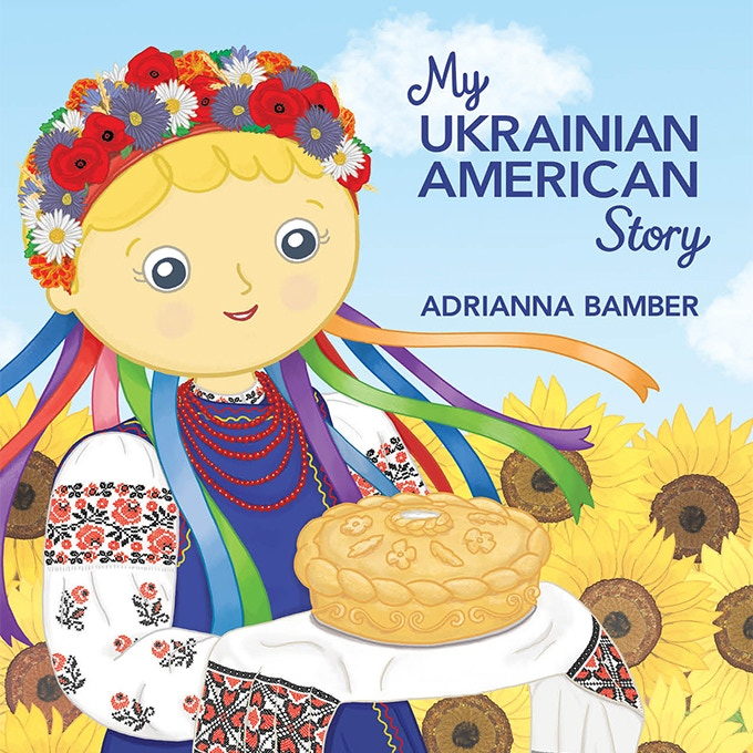 """My Ukrainian American Story"" will be available as a hardcover and softcover book, 8.5"" x 8.5"" square."