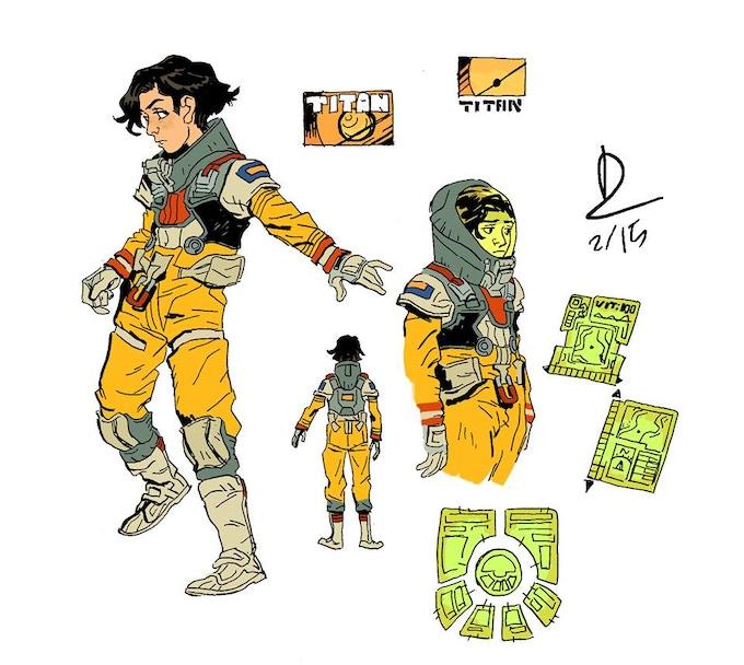 Scout, the Last Scientist. Biologist, Chemist, Total dork.