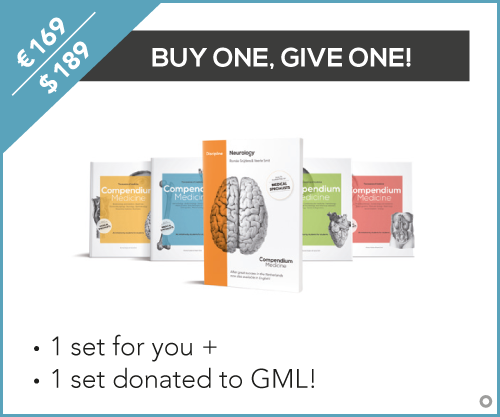 Buy Compendium Medicine for yourself and donate a set to Global Medical Libraries!