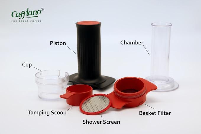 Cafflano® Kompresso Components