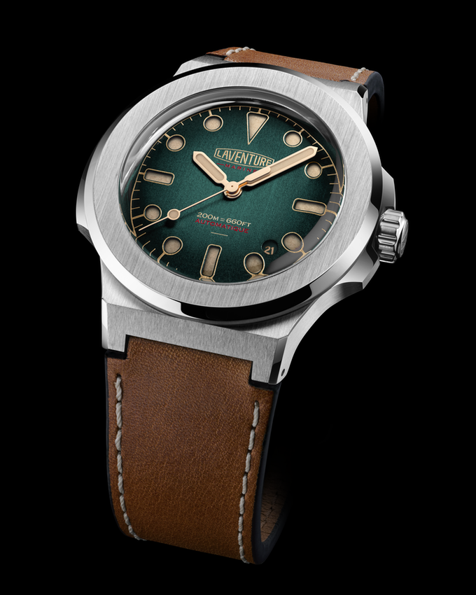 LAVENTURE Marine Green Dial / Limited Edition of 50 pieces