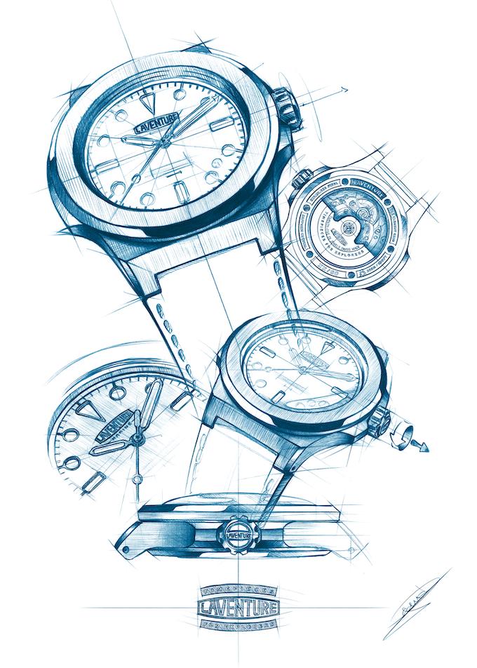 Laventure's Sketches : The Fine Art Print