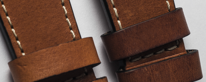 Patina of the Vegetable Calf Leather