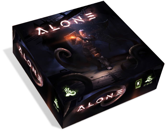 Alone is an asymmetric survival horror / dungeon crawler game that will put a single, stranded hero against up to 3 evil masterminds.
