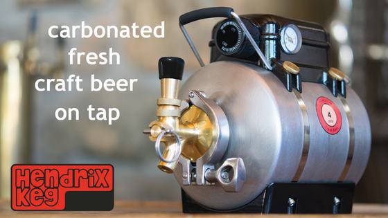The Hendrix Keg - Carbonated, Fresh, Craft Beer on Tap