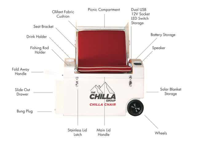 Chilla Chair Specifications