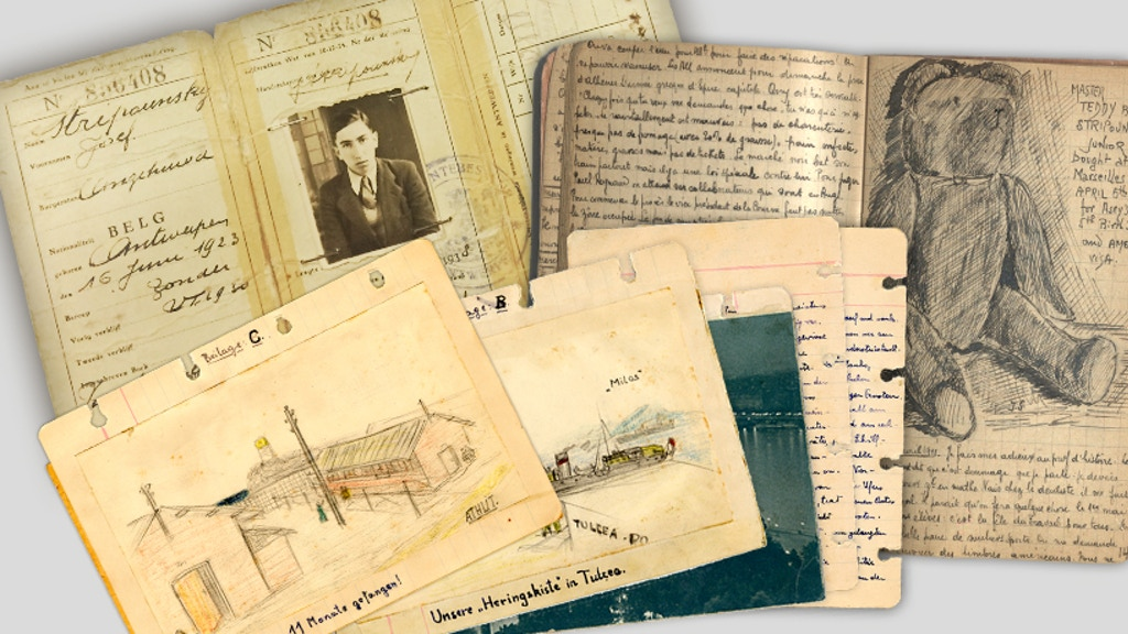 Save Their Stories: Undiscovered Diaries of the Holocaust project video thumbnail