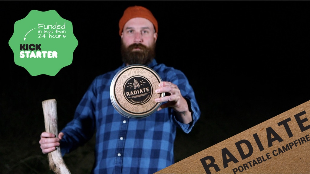 Radiate Portable Campfire- Tailgate Ready- Made in the USA project video thumbnail