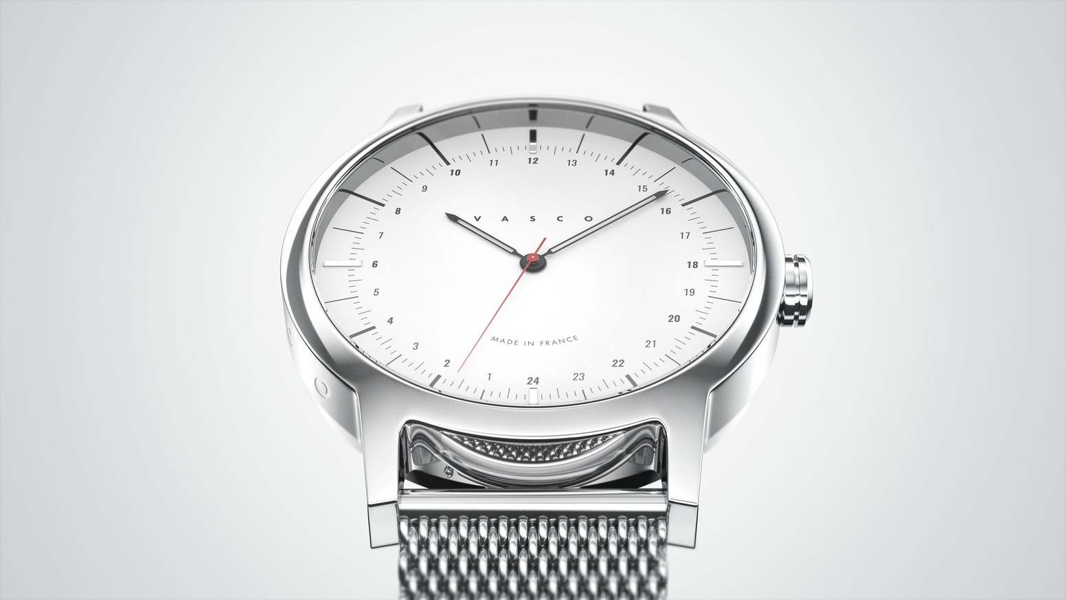 Vasco watch new 24h timepieces by benjamin chamfeuil kickstarter for Vasco watches