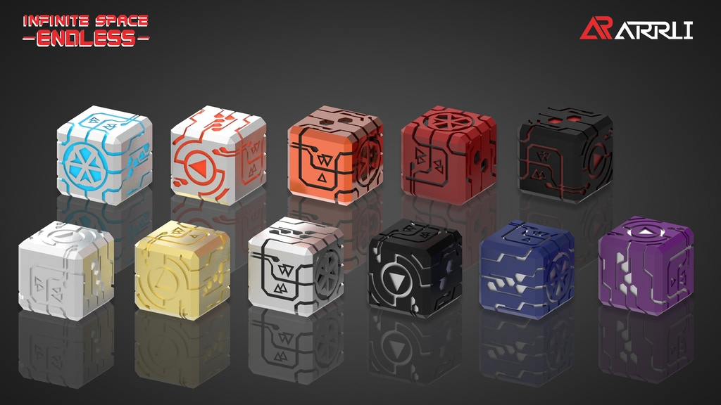 Project image for METAL DICE - INFINITE SPACE: ENDLESS (Canceled)