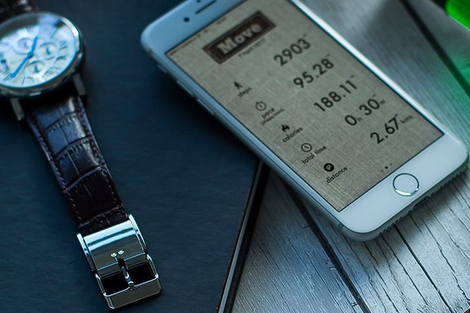 Smart Buckle's sophisticated algorithms ensure activity tracking accuracy.