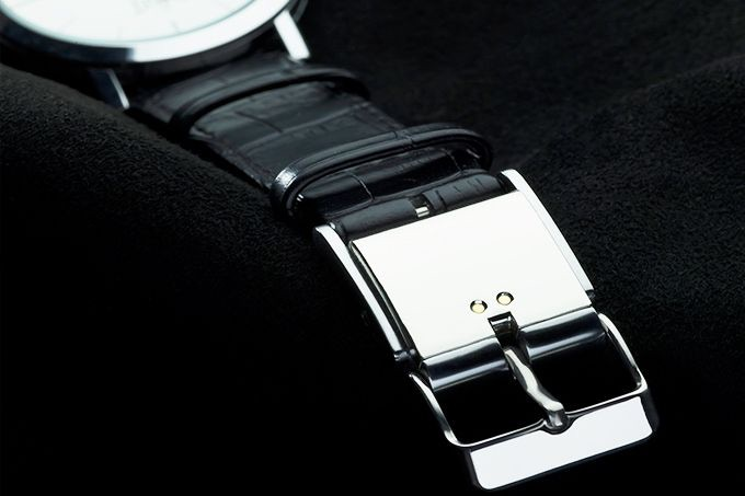 Matches the unique design characteristics of the highest quality luxury watches.