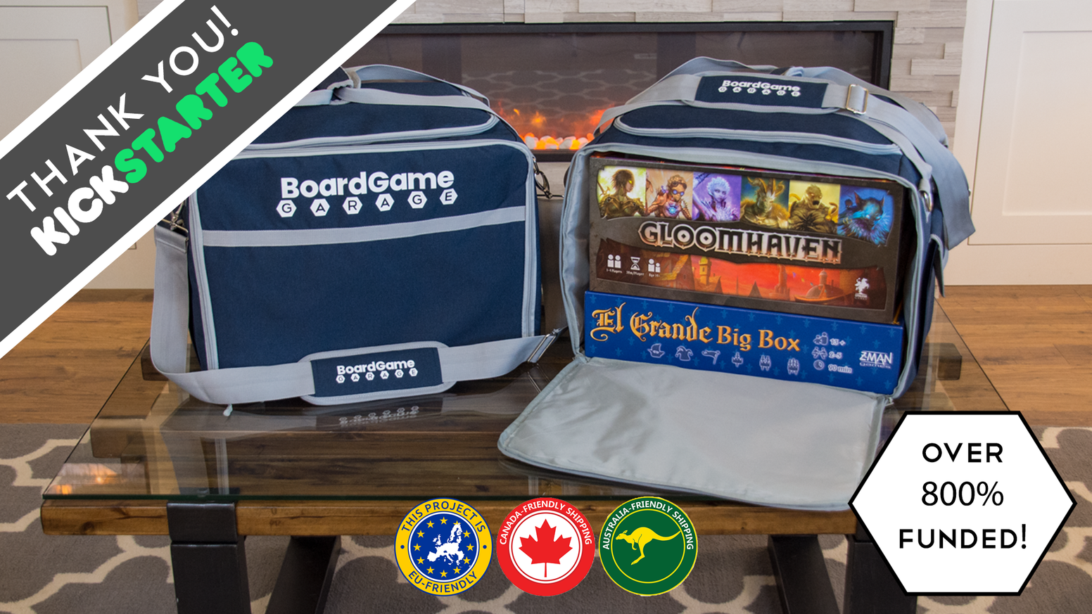 An all-in-one solution for carrying your favorite games and accessories of all sizes. Game night made easier!