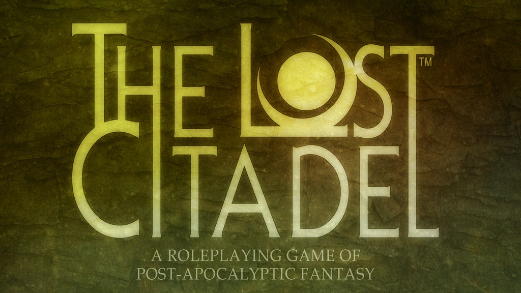 The Lost Citadel — Post-Apocalyptic Fantasy Roleplaying project video thumbnail