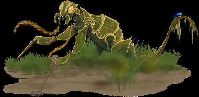 Rust Mantis