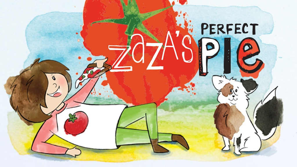 Zaza's Perfect Pie: A Pizza Cookbook & Activity Book project video thumbnail