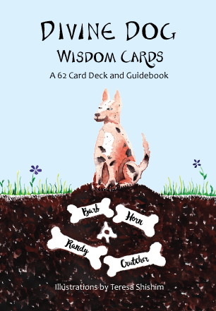 Divine Dog Wisdom Deck and Guidebook