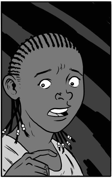 Of course, Zombie Aretha's feisty daughter Lakeya is back for the finale!