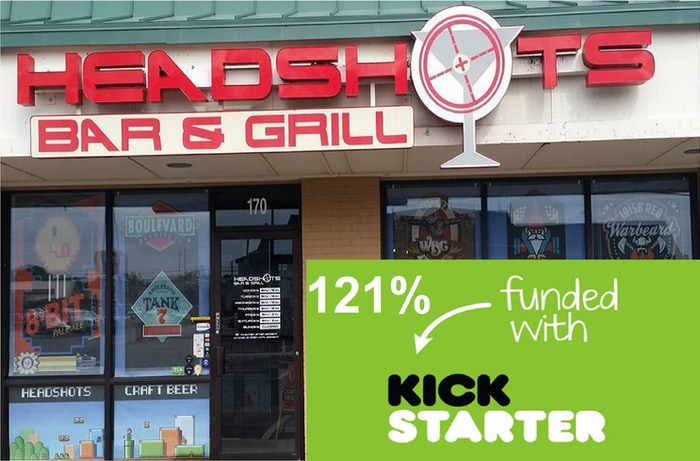Expanding a video game bar in Wichita Kansas to a large new location with more beer, board games, and pizza.