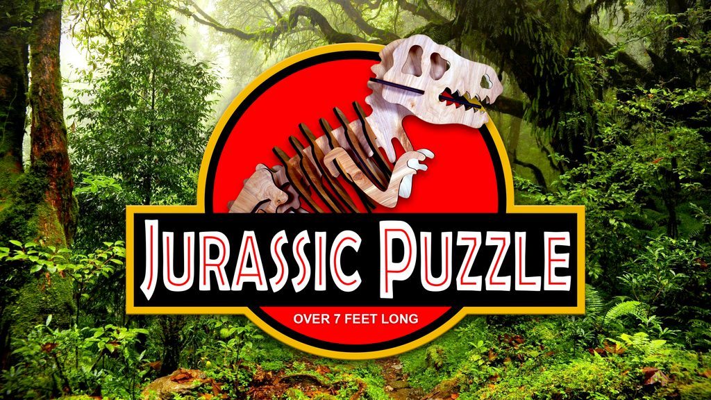 Project image for Jurassic Dinosaur 3D Puzzles (Canceled)
