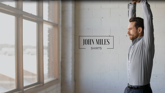 John Miles - The Ultimate Men's Dress Shirt