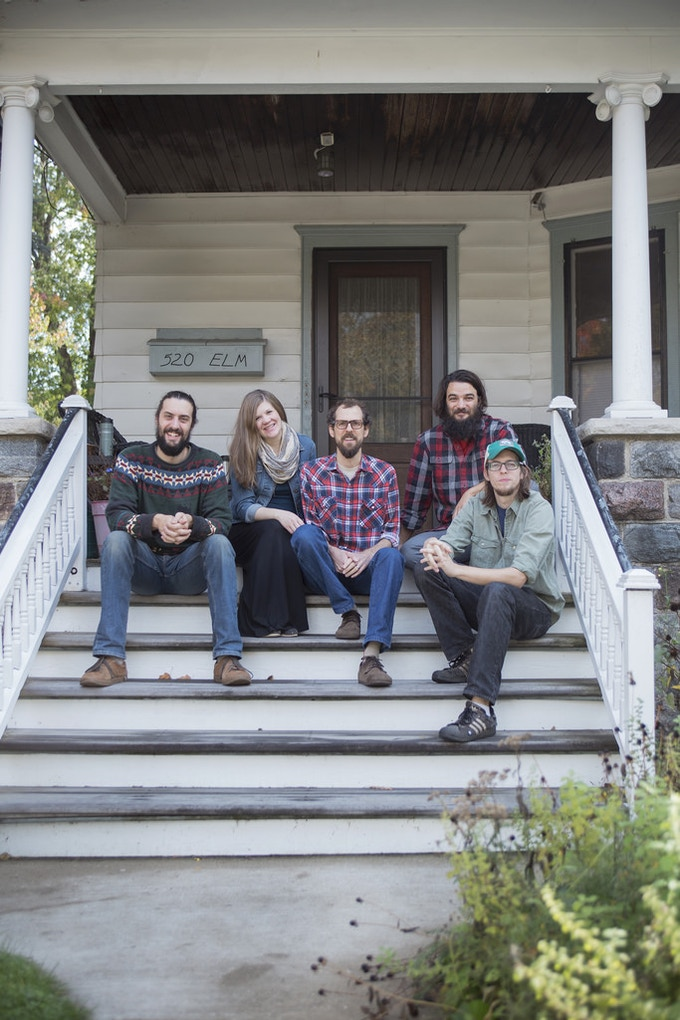 Dan, Bethany, Brandon, Seth and Max in Kalamazoo