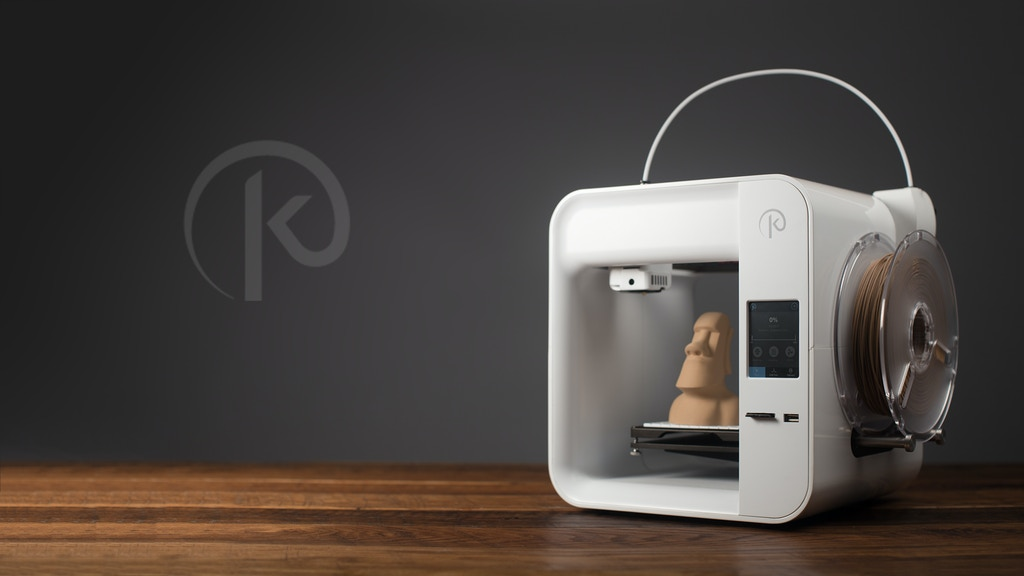 Obsidian 3D Printer: High Quality, Sleek, and Affordable.