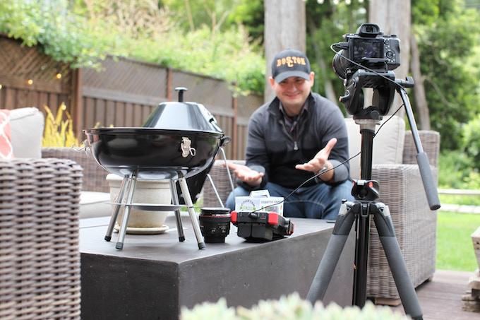 Filming Kickstarter