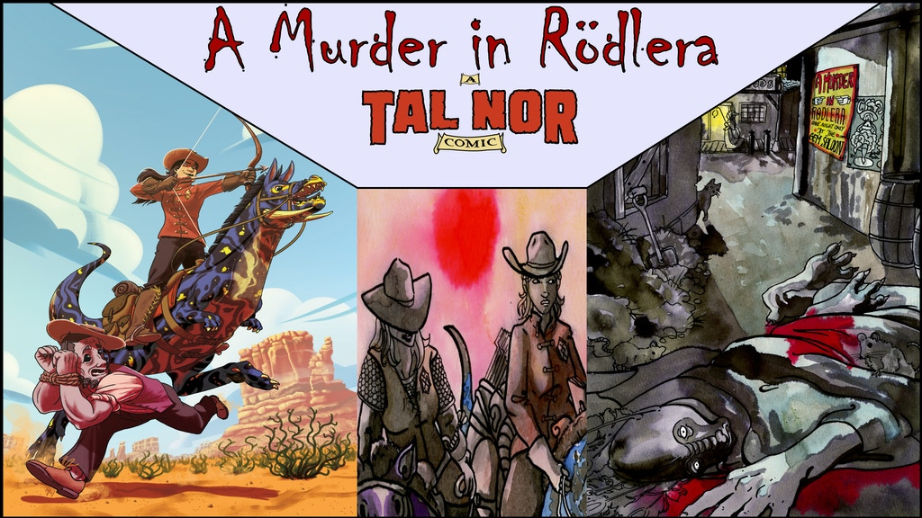 A Murder in Rödlera: a Tal Nor comic by T. Perran Mitchell project video thumbnail