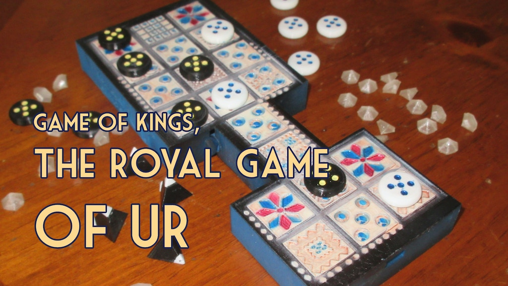 The Royal Game Of Ur: 3d Printed Playable Replica project video thumbnail
