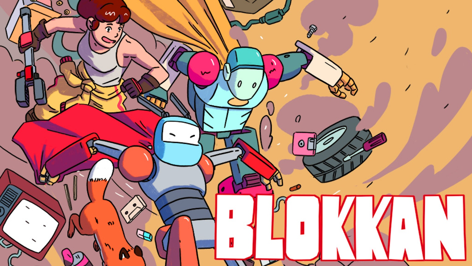 Action-Packed Robot Adventures in an Epic Graphic Novel!