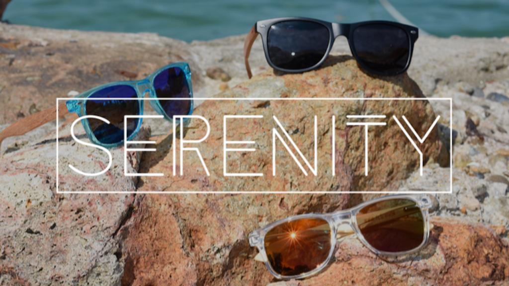 2c027829ccfc SERENITY  Fashionable Wooden Sunglasses by Matthew Dunn — Kickstarter