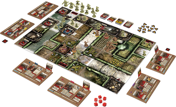 Zombicide Green Horde By Cmon Kickstarter