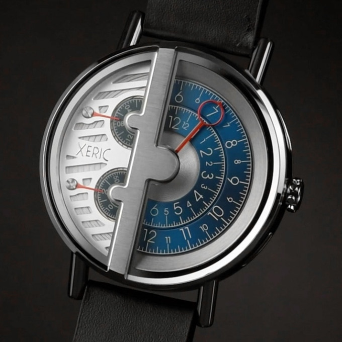 Unmistakably xeric the one handed rq sq watch collection by xeric kickstarter for Watches xeric